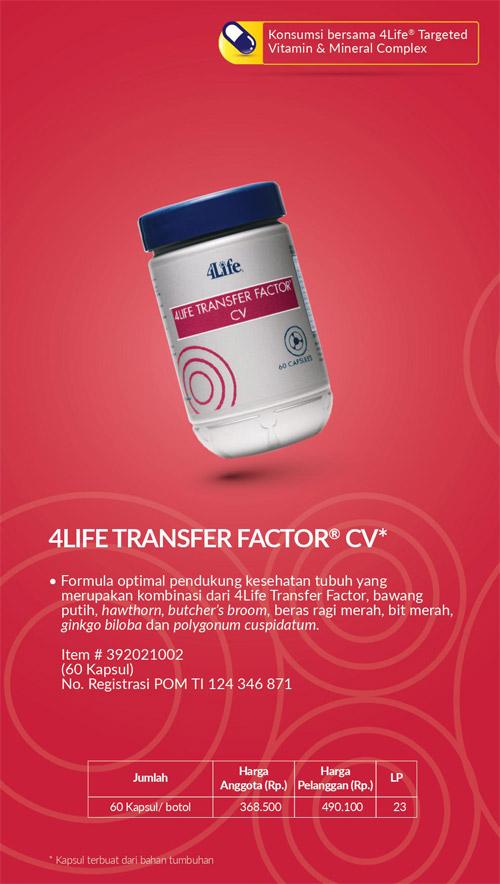 4life transfer factor cv