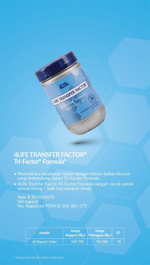 4life transfer factor trifactor formula